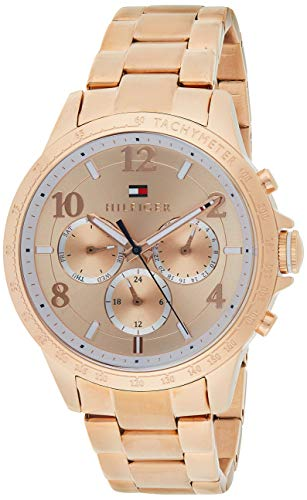 Reloj para mujer Tommy Hilfiger 1781642, mecanismo de cuarzo, diseño con varias esferas,...