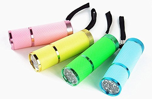 adecco-llc-9-led-glow-in-dark-rubber-coated-push-button-flashlights-with-straps-by-adecco-llc