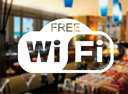 Artstickers. Pegatina Free WiFi