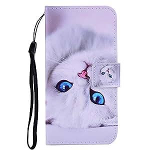 ZCXG Handyh/ülle f/ür Samsung Galaxy J4 Plus H/ülle Schmetterling Muster H/ülle Leder Magnet Tasche Flip Cover Brieftasche Damen Silikon Bumper Case f/ür Samsung Galaxy J4 Plus Klapph/ülle,Lila