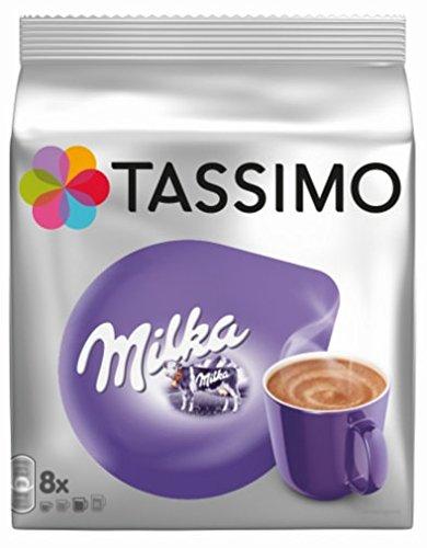 TASSIMO Chocolat Chaud Milka 8 Tdisc - Pack de 5 (40 Tdisc)