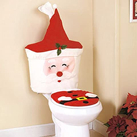 Christmas Decoration Creative Festival Ornament Home Bathroom Decorated Santa Claus