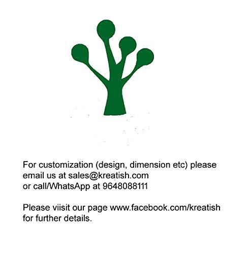 Kreatish DIY Rectangular MDF Multipurpose Box (7 x 5 x 2 inch, Brown)