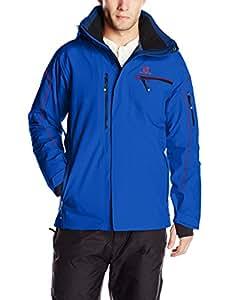 Salomon Brillant Veste Homme Union Blue FR : XXL (Taille Fabricant : XXL)