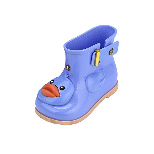 Innerternet Unisex-Kinder Handle It Rain Boot Kinder Gelbe Ente Regenschuhe Karikatur Wasserdichte Stiefel Unisex-Baby Krabbelschuhe