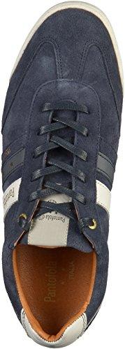 Pantofola d'Oro Herren Vasto Suede Uomo Low Sneaker Blau