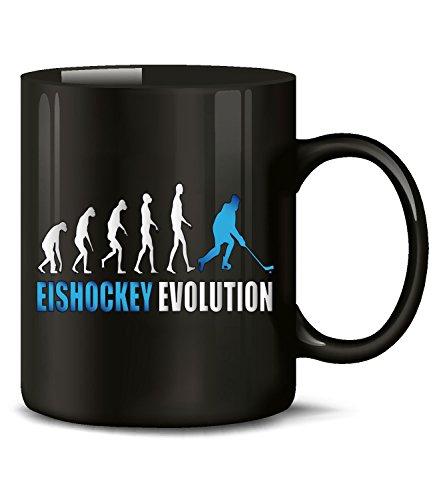 Golebros Eishockey Evolution Wintersport 528 Icehockey Geburtstag Geschenk Fun Tasse Becher...