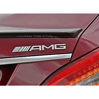 eMarkooz AMG Accessories Metal Chrome Rear Trunk Emblem Badge Logo AMG