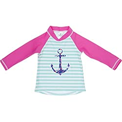 Baby Banz Camiseta Termica Manga Larga ANTI-UV Ancla, 12 meses.