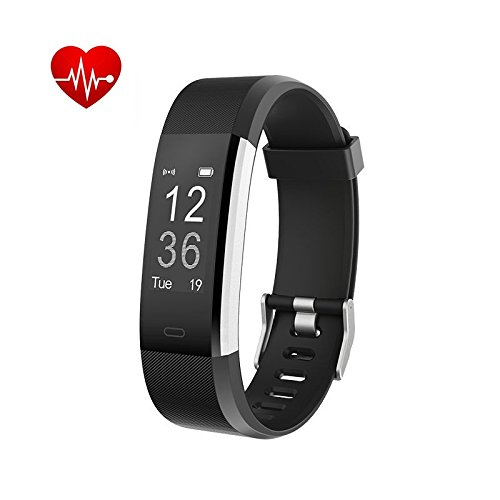 ID2 Plus Smart Fitness Wristband Bracelets Tracker Heart Rate Bluetooth 4.0 Exercise...
