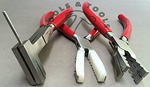 3 PCS PLIERS SET COIL CUTTING NYLON TUBE HOLDING TUBE CUTTING JEWELRY CRAFTS