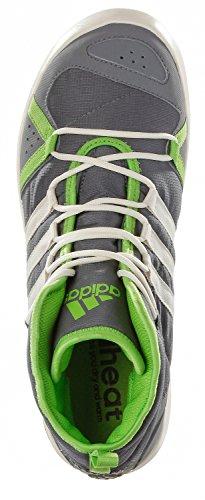 Adidas da uomo, in pelle blu calcio/cwhite/solblu - Gris / Verde