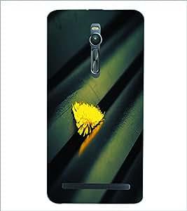PRINTSWAG YELLOW FLOWER Designer Back Cover Case for ASUS ZENFONE 2
