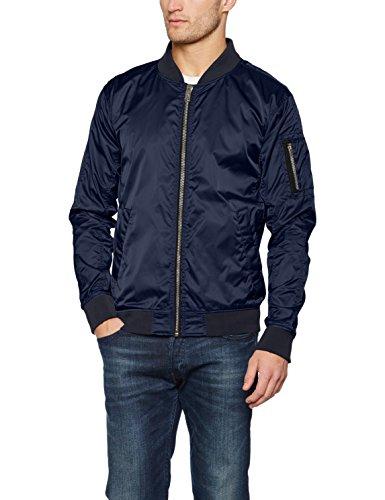 Brandit Herren Jacke Portland Nylonjacket, Blau (Navy 8), Large
