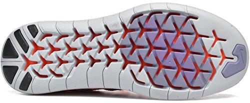 brand new f8d74 efdde ... Nike Wmns Free RN Flyknit, Scarpe da Corsa Donna Bright Mango Black 800  ...