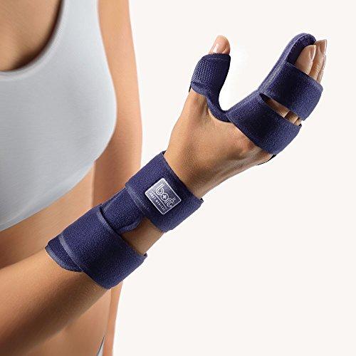 Bort ManuCarpal® SOFT Handgelenk-Orthese, blau L rechts