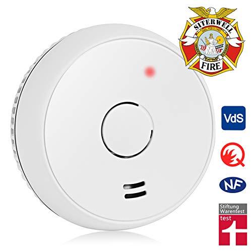 Rauchmelder GS536 Optischer Elektrischer Feuermelder EN14604 Fotoelektrischer Brandmelder...