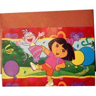 Dora the Explorer Einladungskarten