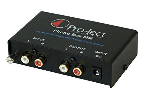 Pro-Ject Phono Box MM Pré-ampli Noir