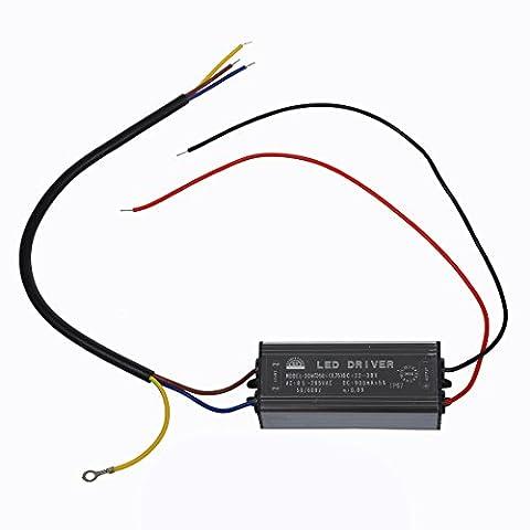 SODIAL(R) 30W LED Pilotes conducteur courant constant Alimentation Transformateur impermeable
