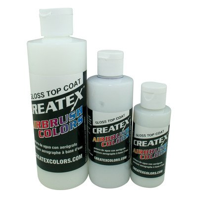 4 oz Gloss Top Coat Airbrush Paint by Createx Colors