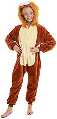 CityComfort Pijamas de Animales Enteros Niños One Piece Soft, Unicorn Costume Girl Cat Lion, Ropa de Dormir Gi