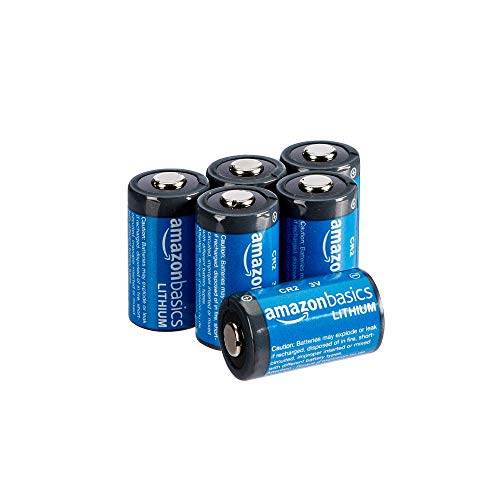AmazonBasics - CR2-Lithium-Batterien, 3 V, 6er-Pack