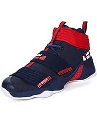 quality design b4bd3 49e73 LFEU Mixte Adulte Sneaker Basketball Femme Homme Chaussure Scratch  Entraînement Football Haute Résistant à ...