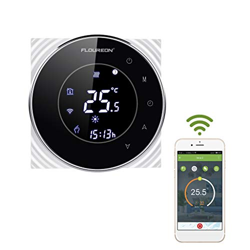 Thermostat Wifi Smart Raumthermostat Wandthermostat programmierbar Raumtemperaturregler für Fußbodenheizung Wandheizung innen LCD 16A