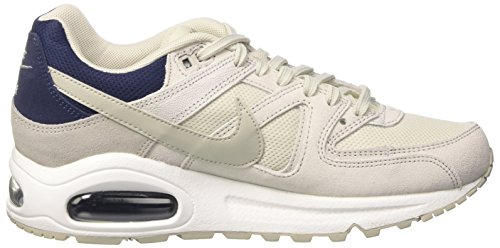 Nike - Women's Nike Air Max Command Shoe, Scarpe fitness Donna Multicolore (Light Bone/pale Grey-midnight Navy-white)