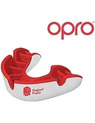 OPRO Mundschutz GEN 3 Silver - Zahnschutz für Handball, Karate, Rugby, Hockey, Boxen, Lacrosse, American Football, Basketball - selbst anformbar - im UK entworfen & hergestellt