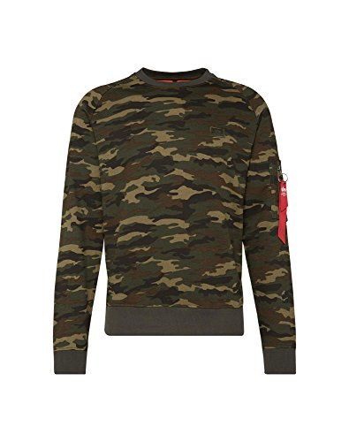 Alpha Industries Sweater X-Fit woodl.-camo