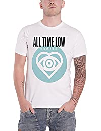 All Time Low T Shirt Future Hearts Album Cover officiel Homme Blanc