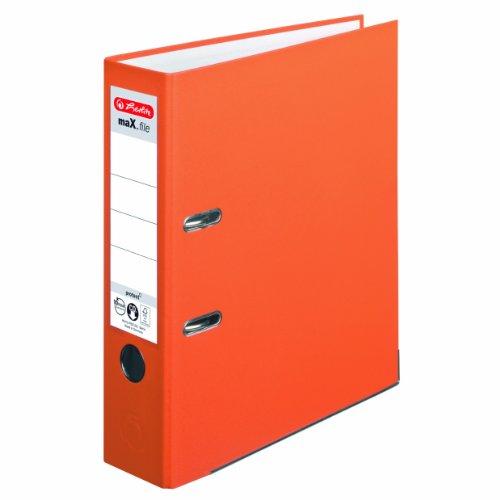 herlitz-10556470-ordner-maxfile-protect-a4-8-cm-mit-einsteckruckenschild-orange