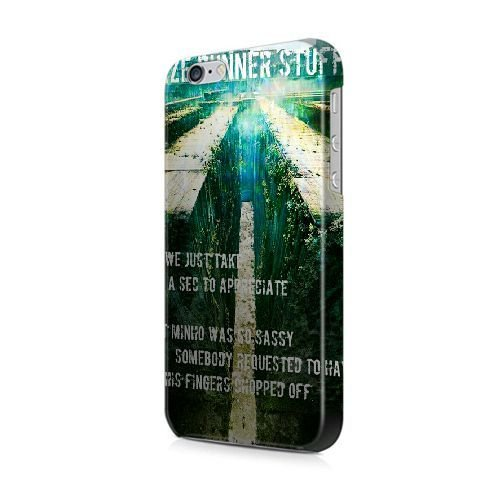 "COUTUM iPhone 6/6S (4.7"" Version) Coque [GJJFHAGJ63814][TWENTY ONE PILOTS TOP CLIQUE BLURRYFACE THÈME] Plastique dur Snap-On 3D Coque pour iPhone 6/6S (4.7"" Version) THE MAZE RUNNER - 021"
