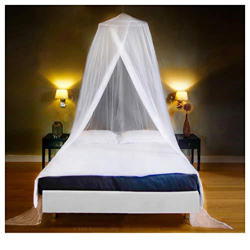EVEN NATURALS MOSKITONETZ Bett, großes Mückennetz für