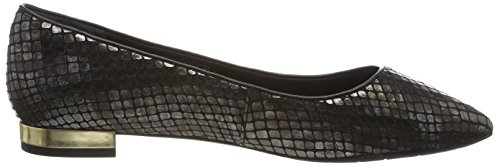 Rockport  Adelyn Ballet, Ballerines femme Schwarz (black Am Lux)