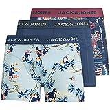 سروال داخلي جاكتروبيك بنقوش اناناس وتصميم شورت للرجال من جاك اند جونز (عبوة من 3 قطع)