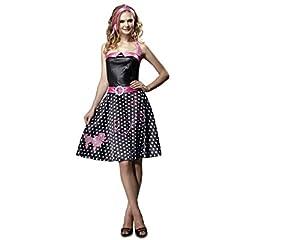 My Other Me Me - Disfraz de Chica de los años 50, talla M-L (Viving Costumes MOM00527)
