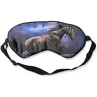 Black Handsome Horse Sleep Eyes Masks - Comfortable Sleeping Mask Eye Cover For Travelling Night Noon Nap Mediation... preisvergleich bei billige-tabletten.eu