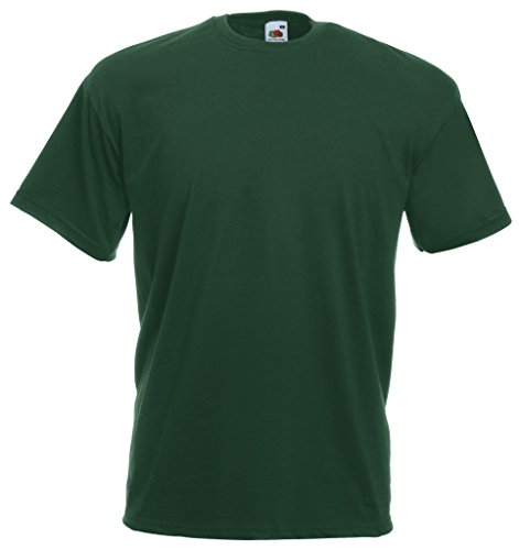 Fruit of the Loom 10 x Valueweight T-Shirt von FRUIT OF THE LOOM 61-036-0 Grün