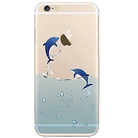 Schutzhülle für iPhone 6/6S11,9cm, Flying Pinguin, weiche TPU-Schutzhülle, Silikonkautschuk