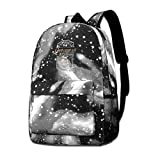 """【SPECIFICATIONS】Backpack Dimensions: 15.7""""H x 11""""L x 3.9""""W.Backpack Weight : 0.58 LBS. Lightweight and convenient for use.Backpack Material : 100% polyester.Any Questions Please Feel Free To Contact Us, It's Our Goal To Offer The Best Customer Servic..."""