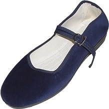 Cina scarpe di velluto numeri 33-42 vari colori c73921458be