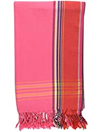 Large Kenyan Kikoy - 100% Cotton - Lightweight, Compact, Quick Dry, 97x162cm - Perfect for Beach & Pool and at Home - Lots of Stunning Colours to Choose From - Next Day Dispatch by 1st Class