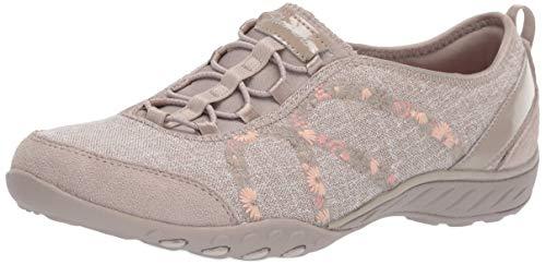Skechers Damen Breathe-Easy-Garden Joy Slip On Sneaker 382370196d7