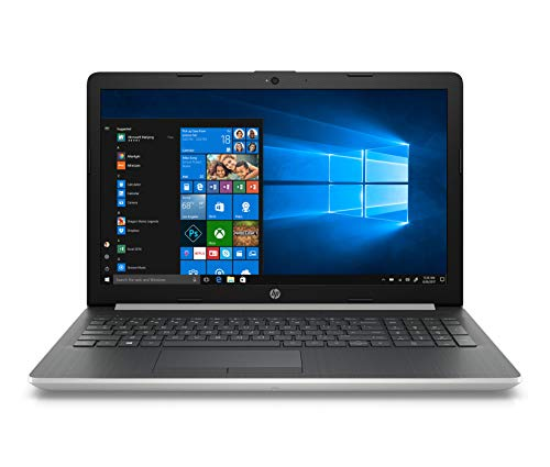HP 15-da1009nf PC Portable 15,6'' FHD Argent (Intel Core i5-8265U, 4 Go de RAM, 1 To de Stockage, NVIDIA GeForce MX110 2 Go, AZERTY, Windows 10)