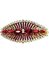 Mansiyaorange Party Casual Wedding wear Designer Premium fancy Golden Hair Clip For Women