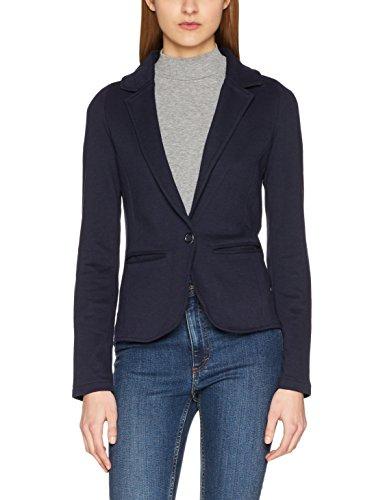 ONLY Damen Anzugjacke Onlclaudia L/S Blazer Swt, Blau (Night Sky), 36 (Herstellergröße: S)