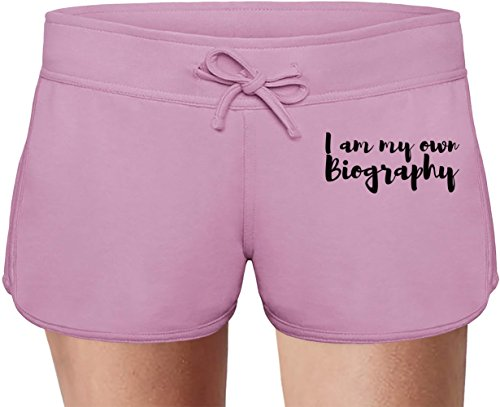 I'm Biography Summer Sweat Shorts For Women & Ladies | 80% Cotton-20%Polyester| DTG Printing| Unique & Custom Briefs, Bermudas, Underpants, Slacks & Sports Clothing By Wicked Wicked